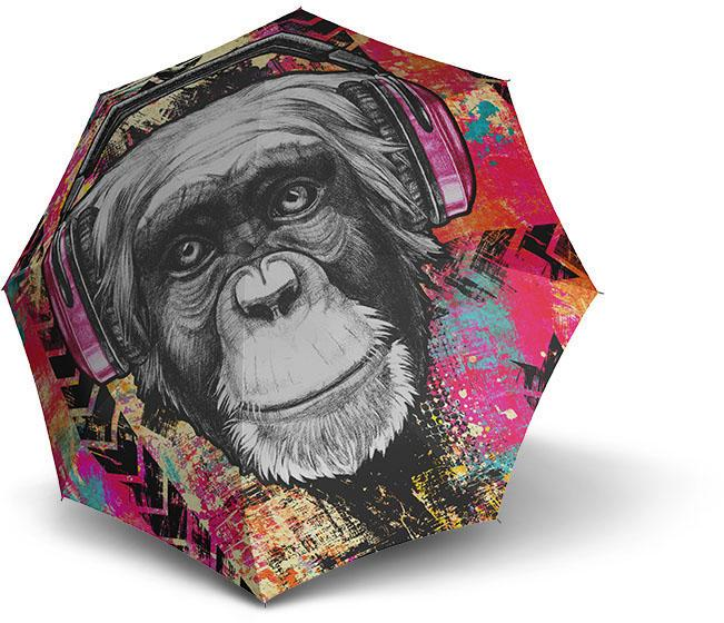 doppler® Regenschirm - Stockschirm, »Modern Art Long Automatic, Monkey« | Accessoires > Regenschirme > Stockschirme | DOPPLER