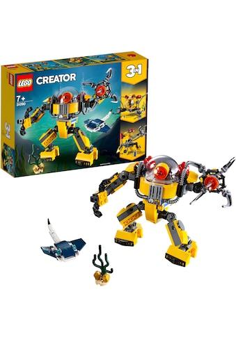 LEGO® Konstruktionsspielsteine »Unterwasser-Roboter (31090), LEGO® Creator«, (207 St.), Made in Europe kaufen