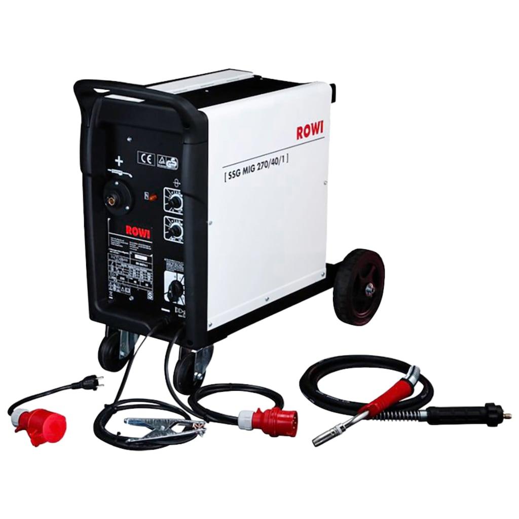 ROWI Schutzgasschweißgerät »MIG 270/40/1«