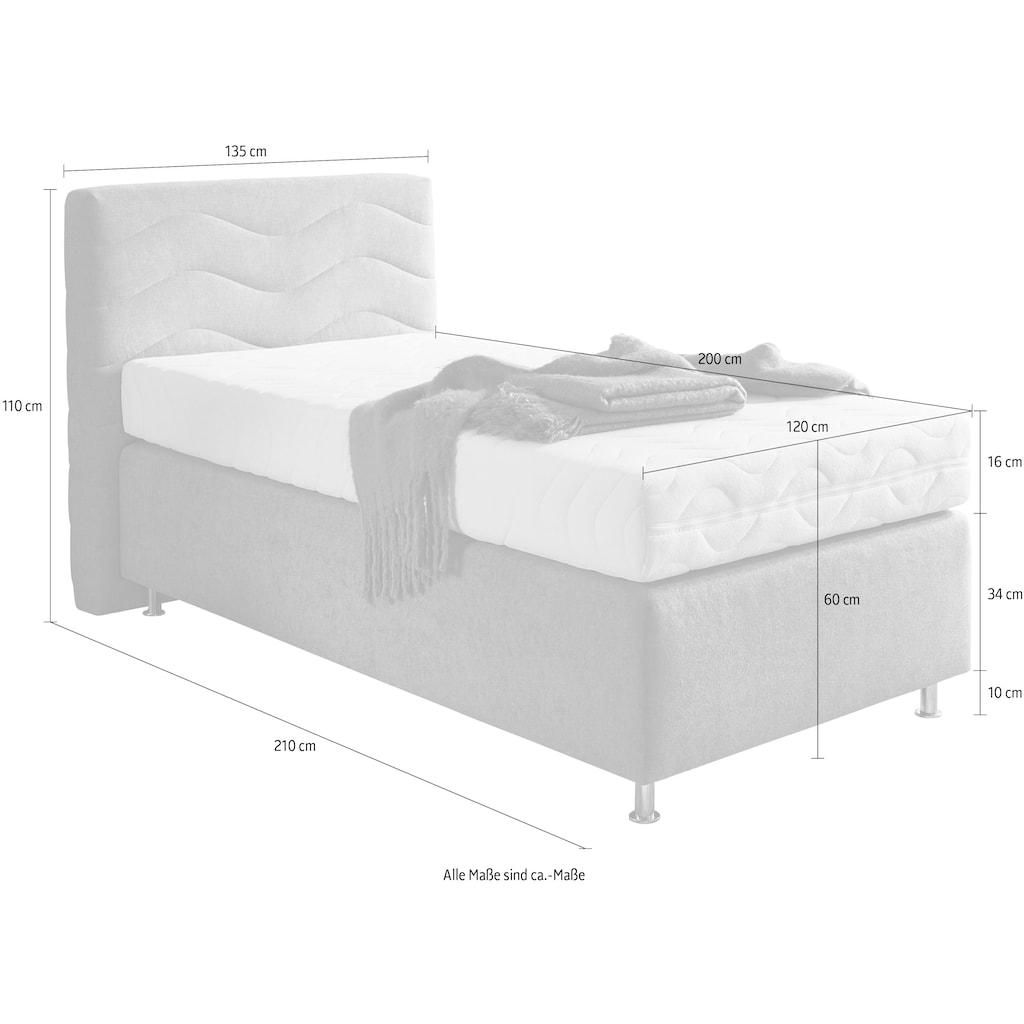 Westfalia Schlafkomfort Boxspringbett »Sigma«