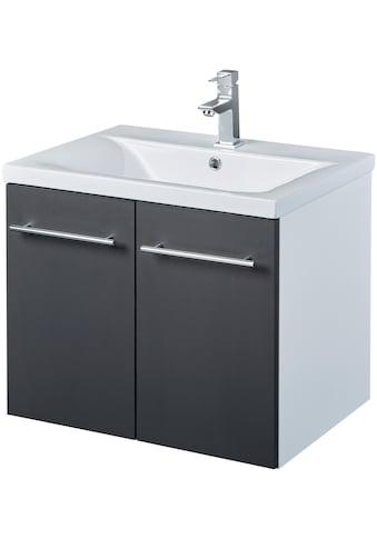 WELLTIME Waschtisch »Baja / Lugo«, Waschplatz, 60 cm breit, Bad - Set 2 - tlg. kaufen