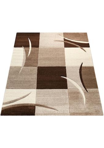 Teppich, »Diamond 665«, Paco Home, rechteckig, Höhe 17 mm, maschinell gewebt kaufen