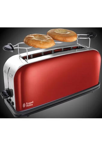 RUSSELL HOBBS Toaster »Colours Plus+ Flame Red 21391-56«, 1 langer Schlitz, 1000 W kaufen