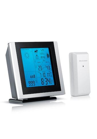 Brandson Funk Wetterstation mit Außensensor »Hygrometer / Barometer / Thermometer / Wecker« kaufen