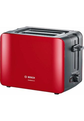 BOSCH Toaster »ComfortLine TAT6A114«, 2 kurze Schlitze, 1090 W kaufen