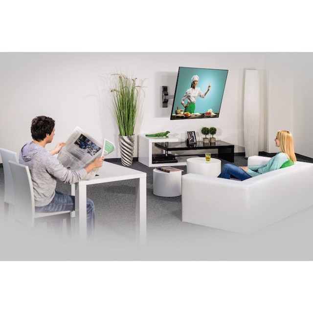 """Hama TV-Wandhalterung FULLMOTION Ultraslim, 5 Sterne »48-117 cm (19""""-46""""), schwarz«"""