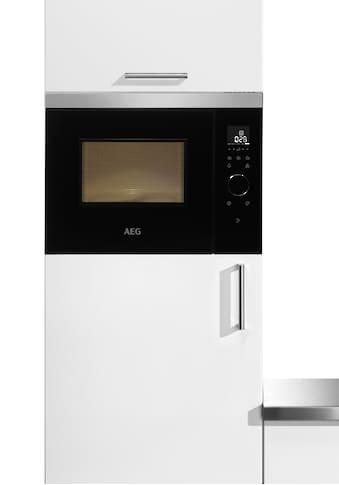 AEG, Einbau - Mikrowelle »MBB1755SEM«, Mikrowelle kaufen