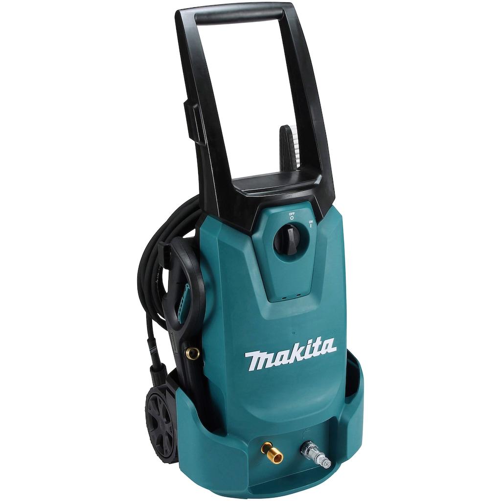 Makita Hochdruckreiniger »HW1200«, 120 bar, IPX5 Schutzisolierung