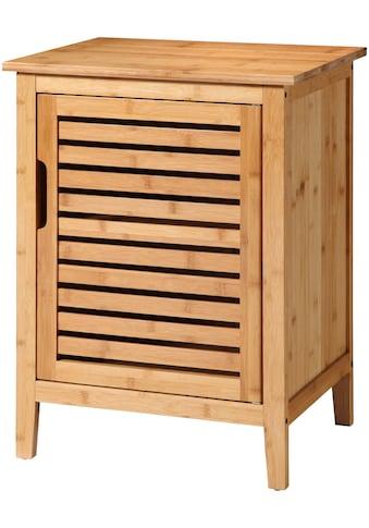 WELLTIME Badunterschrank »Bambus«, Badregal, Breite 50 cm kaufen