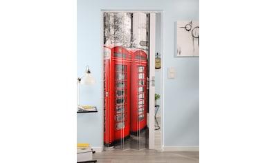 """Falttür »Vera«, für Türbreiten bis 89,5 cm, mit Motiv """"Telefonzelle"""" kaufen"""