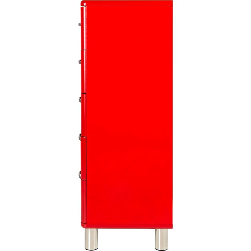 Tenzo Kommode »Malibu«, mit 5 Schubladen, Design von Rutger Anderson