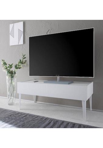 Places of Style TV-Board »Zela«, mit 2 Schubladen, mit Füßen, Breite 123 cm kaufen