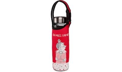 """Goebel Trinkflasche »Barbara Freundlieb - """"Ich muss gar nix""""«, (mit Haltegurt),... kaufen"""