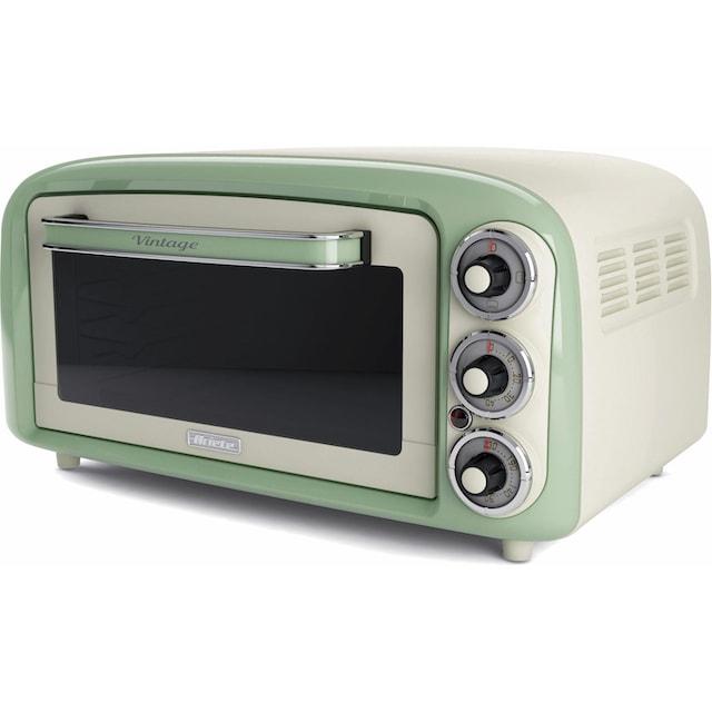 Ariete, Minibackofen »Vintage 979 grün«, Oberhitze Unterhitze