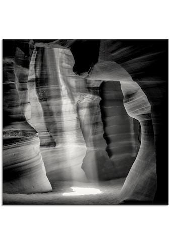 Artland Glasbild »Antelope Canyon III«, Amerika, (1 St.) kaufen