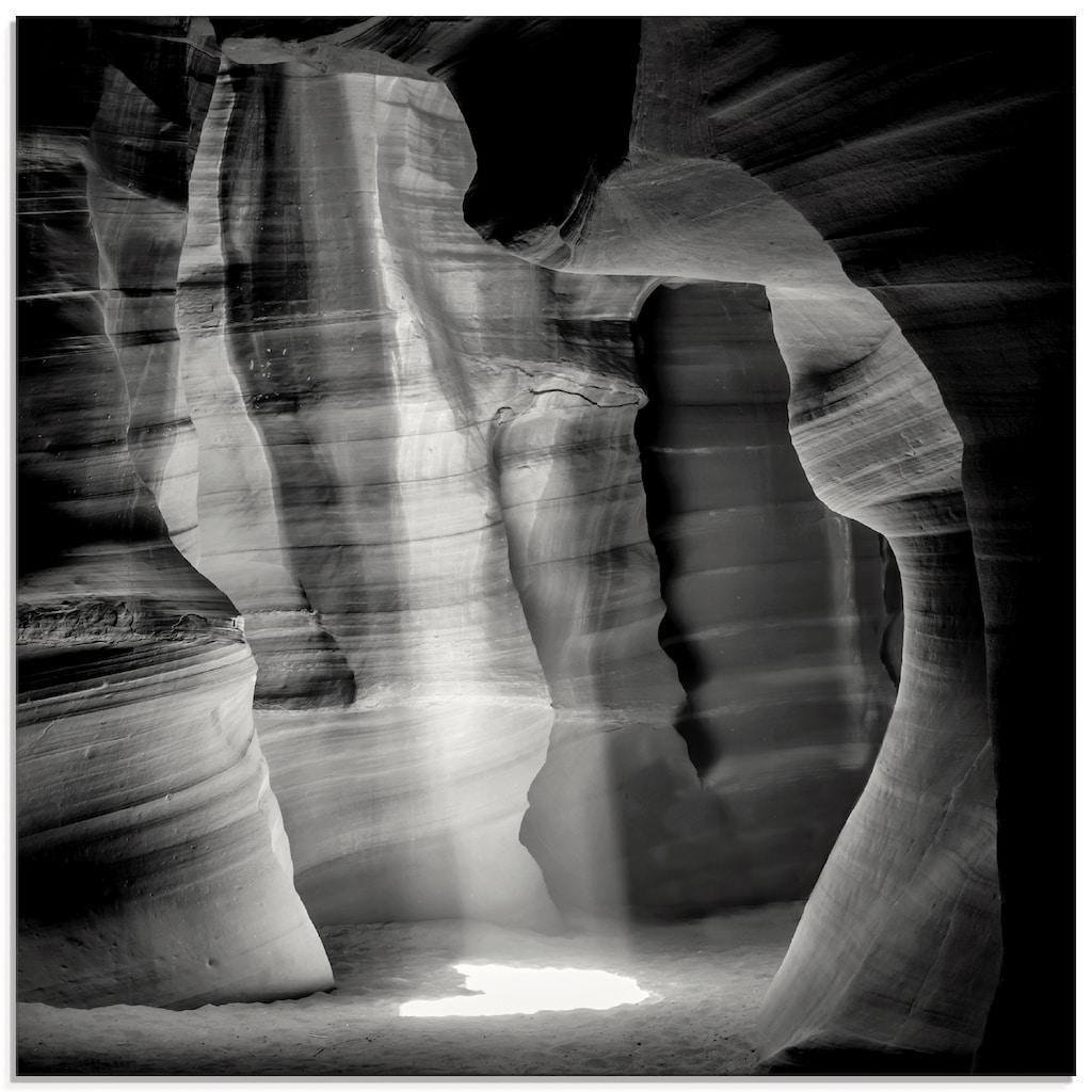 Artland Glasbild »Antelope Canyon III«, Amerika, (1 St.)