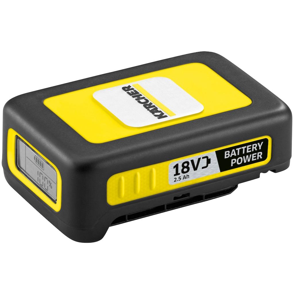 KÄRCHER Akku »Starter Kit Battery Power 18/25«, inkl. Ladegerät