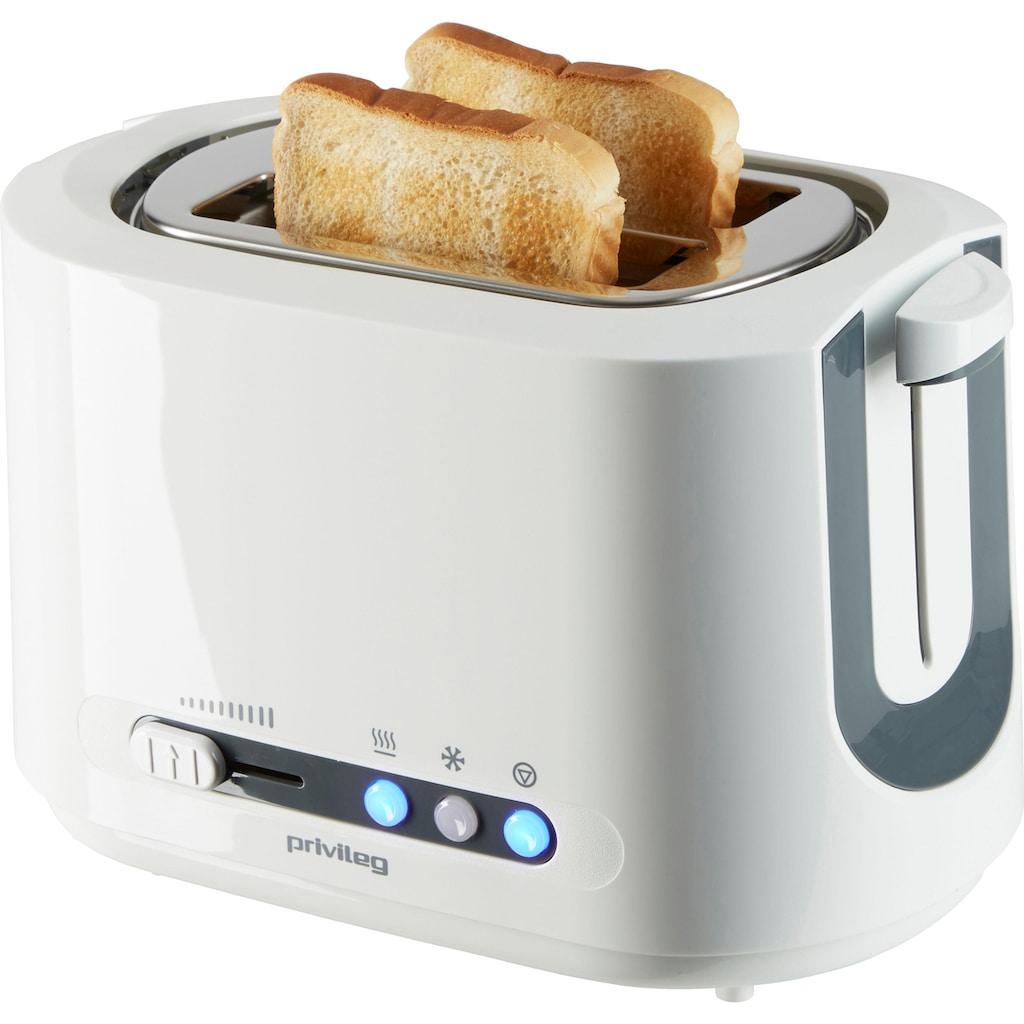 Privileg Toaster »TA8145«, 2 kurze Schlitze, für 2 Scheiben, 850 W