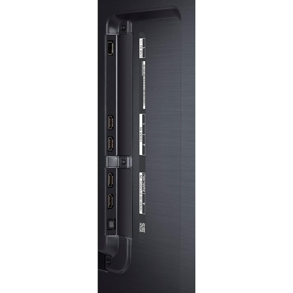 "LG QLED Mini LED-Fernseher »75QNED919PA«, 189 cm/75 "", 4K Ultra HD, Smart-TV, (bis zu 120Hz)-Full Array Dimming Pro-α7 Gen4 4K AI-Prozessor-Sprachassistenten-HDMI 2.1"
