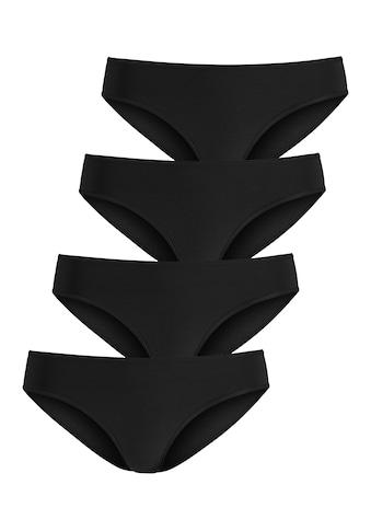 LASCANA Jazz-Pants Slips, (4 St.), in schönen Hauttönen kaufen