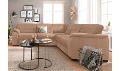 sit&more Ecksofa, wahlweise mit Bettfunktion und Schubkasten kaufen