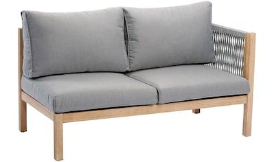 Best Loungesofa »Madagaskar«, Seitenteil, Eucalyptus, inkl. Auflagen kaufen