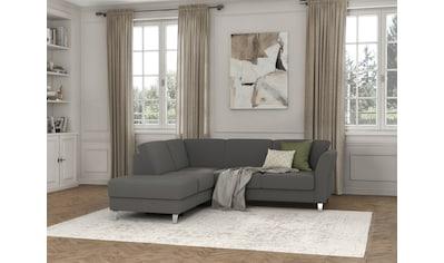 sit&more Ecksofa »Visby V«, Wahlweise mit Bettfunktion und Stauraum, frei im Raum... kaufen