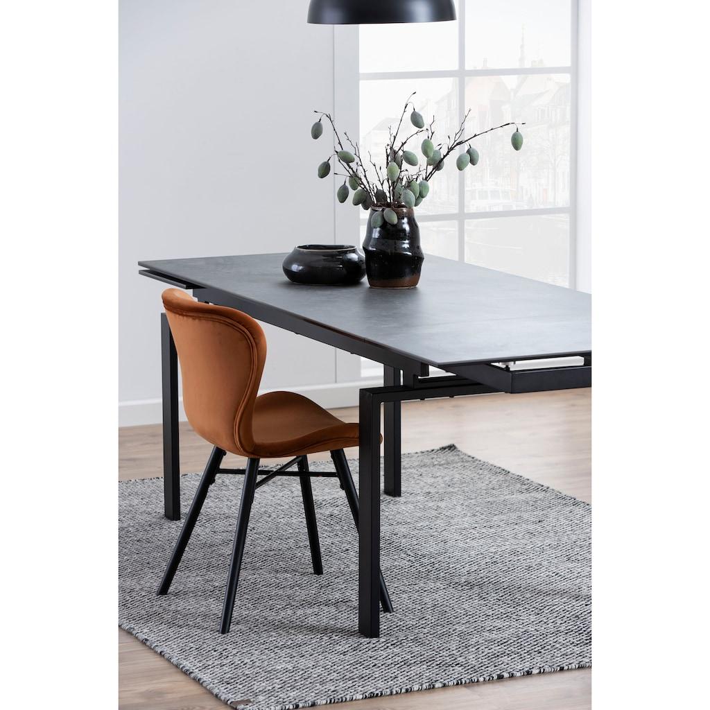 andas Esstisch »Hugh«, in verschiedenen Tischbreiten und Farbvarianten erhältlich, mit einer Auszugsfunktion