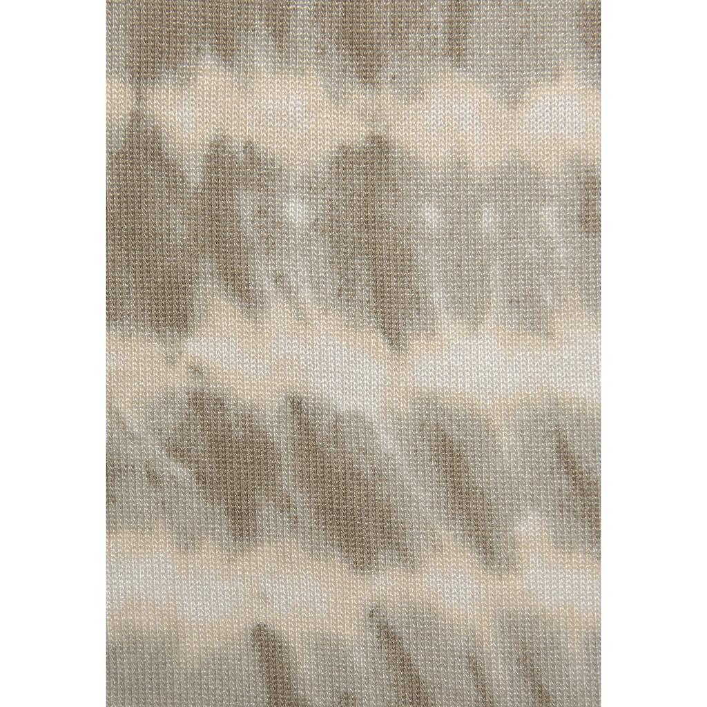 LASCANA Schößchenshirt, mit Alloverdruck