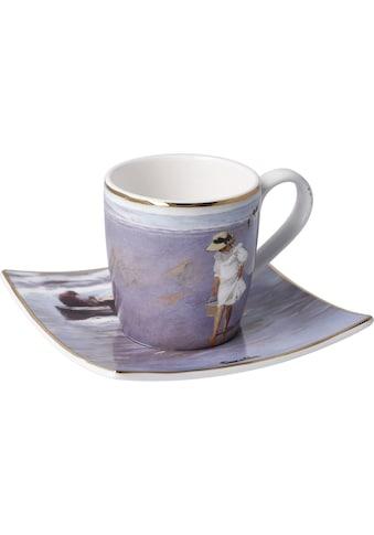 """Goebel Espressotasse »Joaquin Sorolla - """"Nach Sonnenuntergang""""«, 100 ml kaufen"""