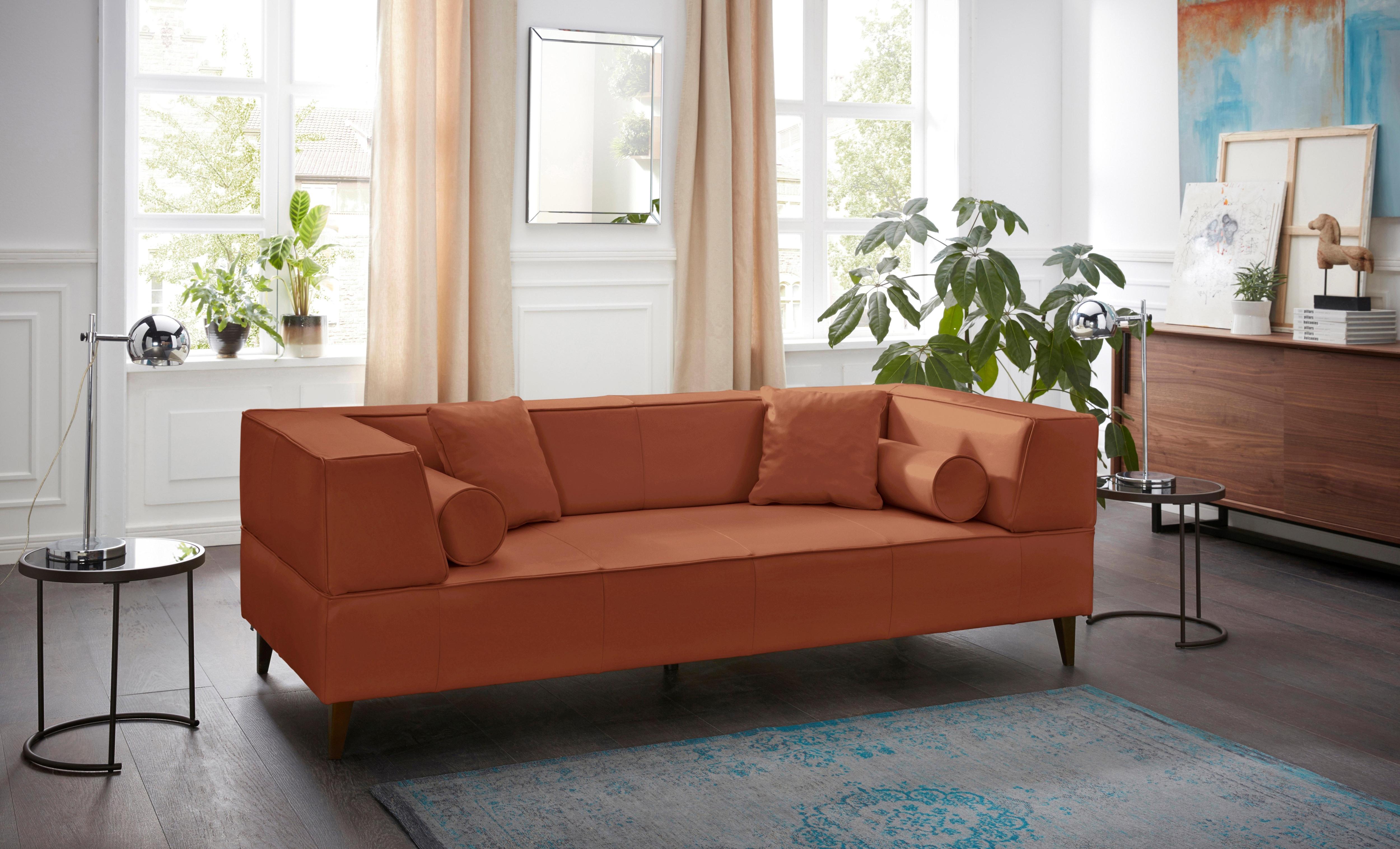 rot-samtvelours 2 & 3 Sitzer Sofas online kaufen | Möbel ...