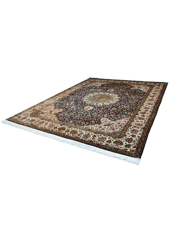 Kayoom Seidenteppich »Kashan 220«, rechteckig, 10 mm Höhe, Einzelstück mit Zertifikat,... kaufen