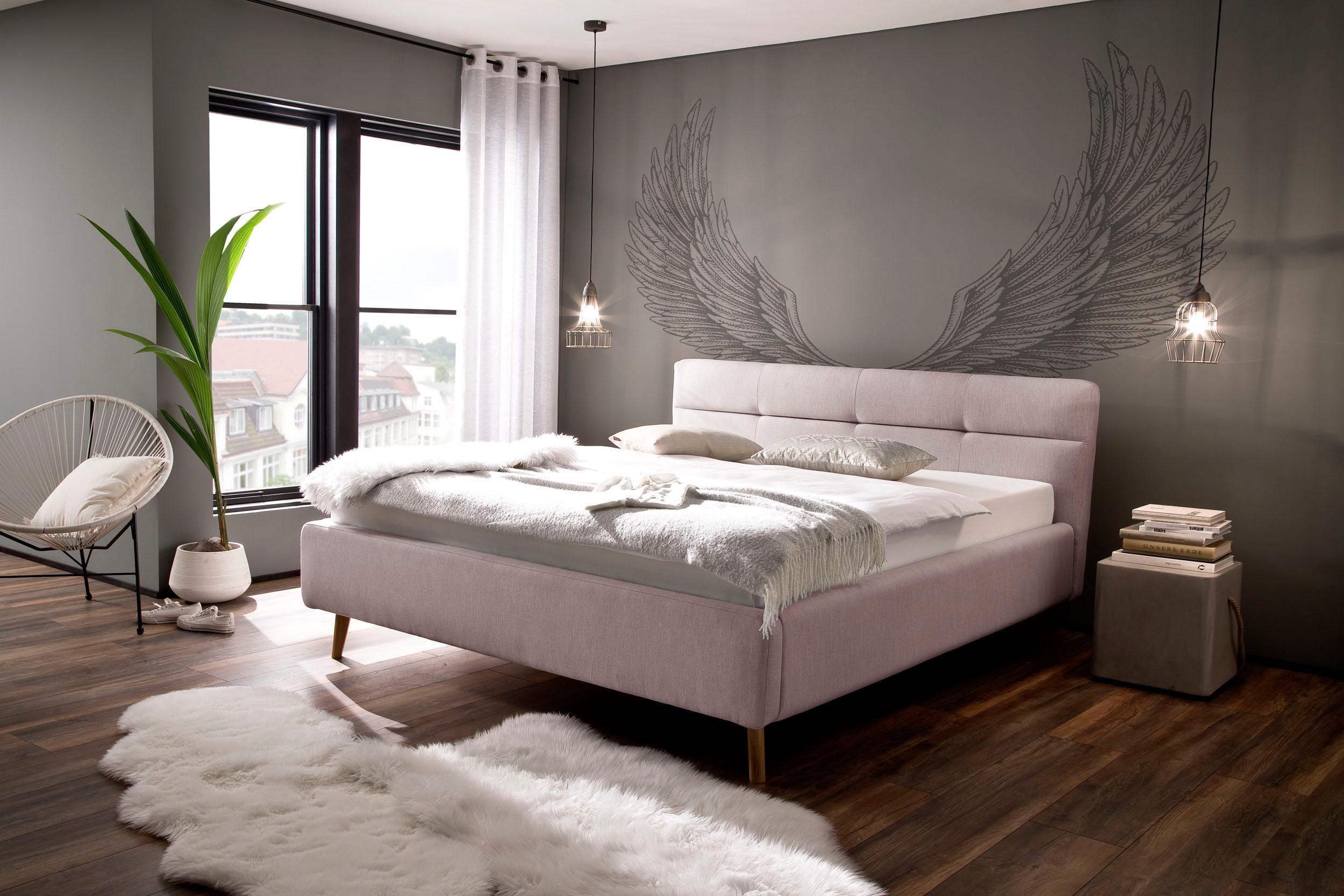 meise.möbel Polsterbett »Lotte« mit Lattenrost und Bettkasten