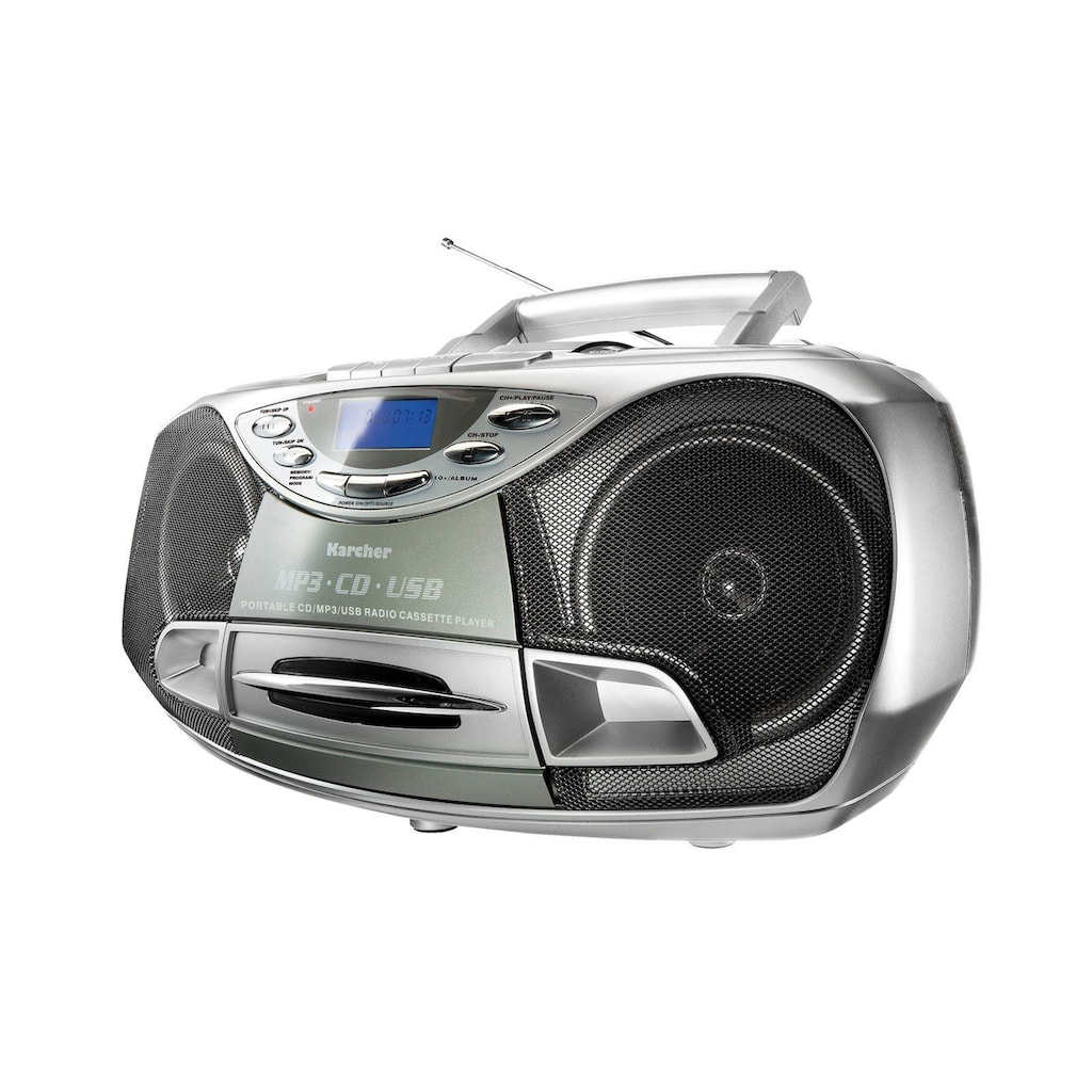 Karcher Stereo-CD Player »RR 510(N)«, Anti-Schock-Funktion