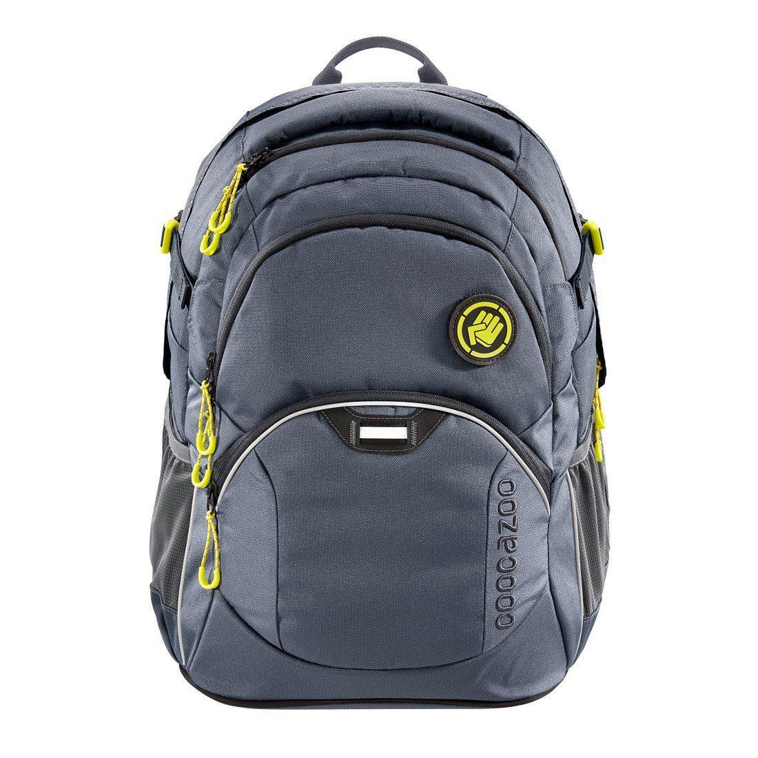 coocazoo Rucksack ´´JobJobber2´´ mit Laptopfach, Shadowman »Außenmaße 30 x 45 x 20 cm« | Taschen > Rucksäcke > Sonstige Rucksäcke | Grau | COOCAZOO