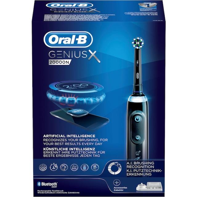 Oral B Elektrische Zahnbürste Genius X 20000N, Aufsteckbürsten: 1 Stk.
