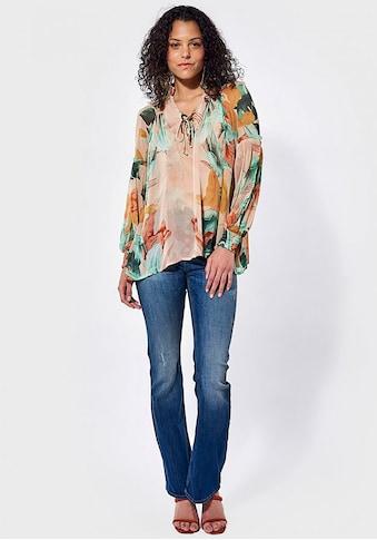 Kaporal Blusenshirt »JAME«, mit buntem Muster kaufen