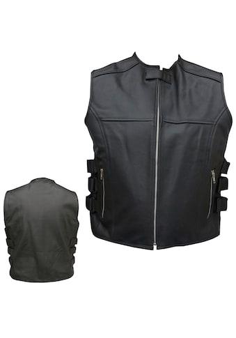 PROANTI Motorradweste, aus Leder kaufen