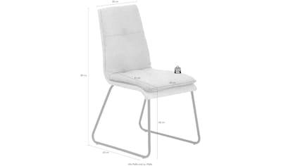 Mayer Sitzmöbel Esszimmerstuhl »myDERBY«, bequemes Innenkissen kaufen