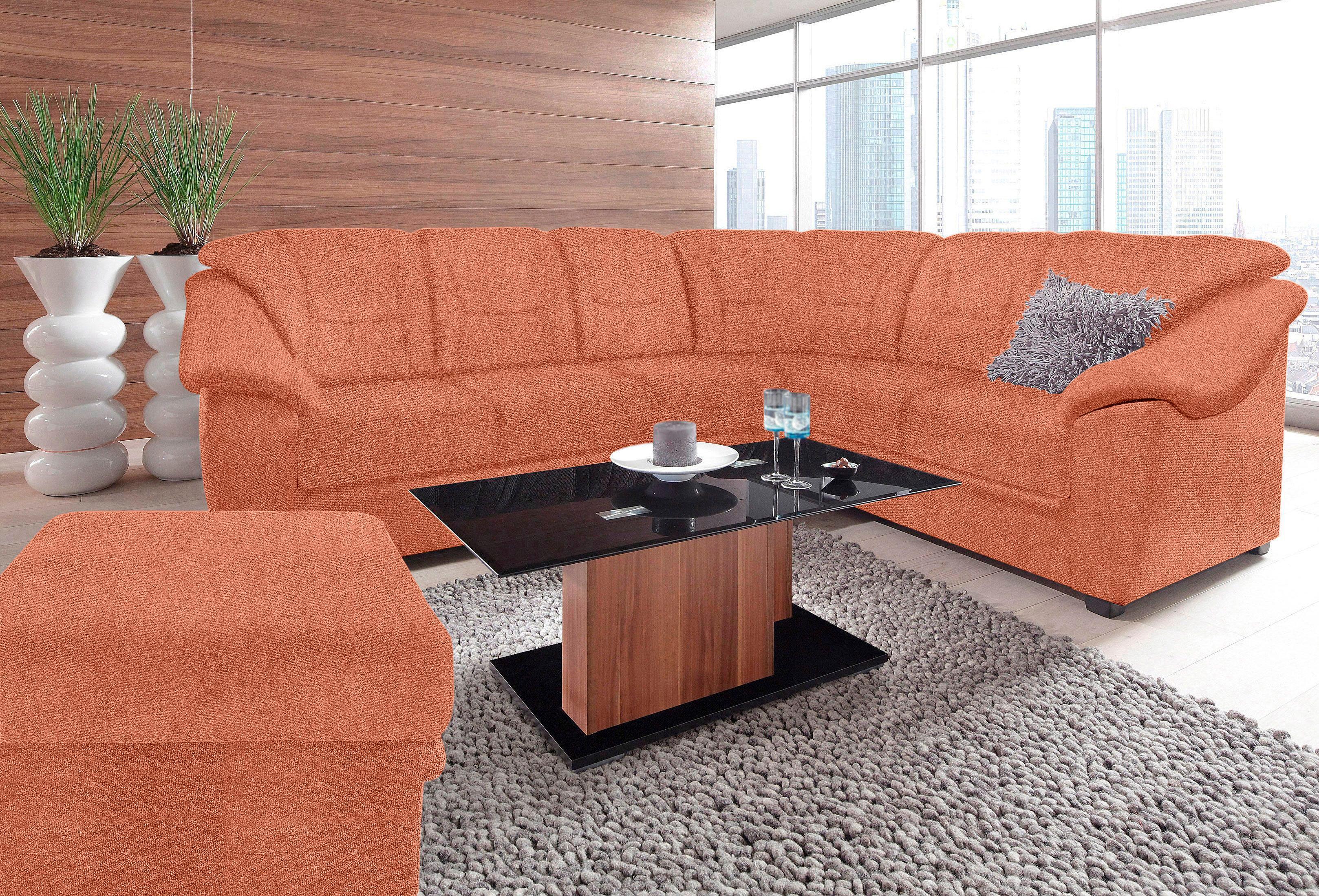 sit&more Ecksofa | Wohnzimmer > Sofas & Couches > Ecksofas & Eckcouches | Braun | Microfaser - Strukturstoff - Polyester | SIT&MORE
