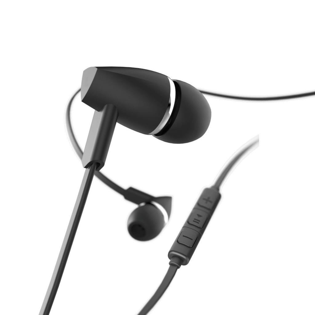 """Hama Kopfhörer """"Joy"""", In-Ear, Mikrofon, Flachbandkabel, Sch"""