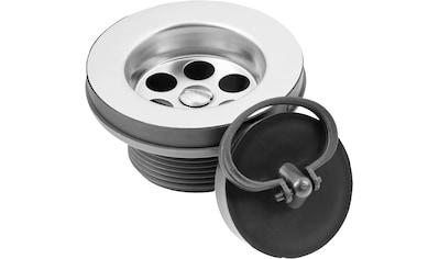 CORNAT Sanitärarmaturenzubehör »Rezyklat Spültisch - Ablaufventil«, Ø 45,5 mm, aus recyceltem Kunststoff kaufen