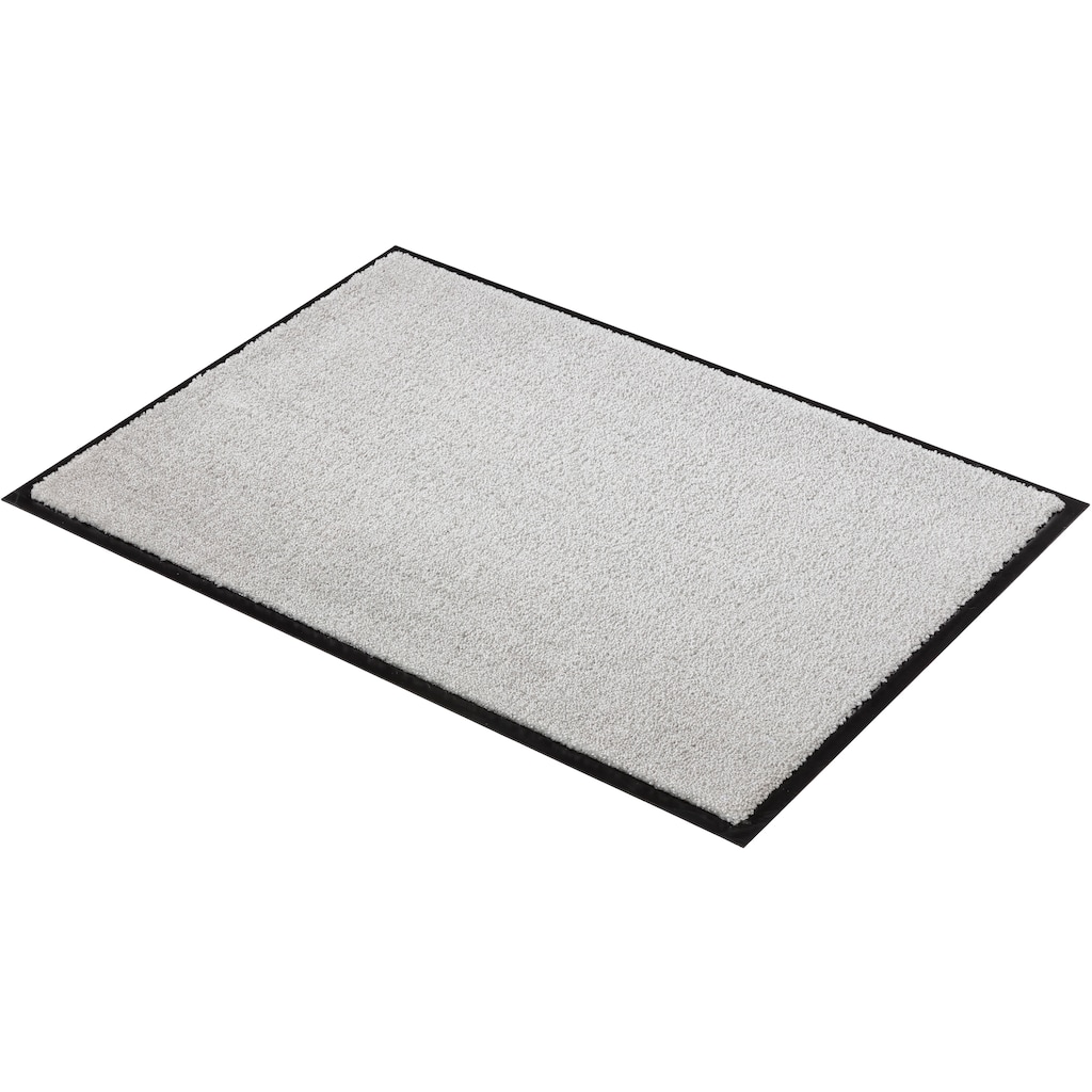 SCHÖNER WOHNEN-Kollektion Fußmatte »Miami Uni WM«, rechteckig, 7 mm Höhe, Schmutzfangmatte, waschbar