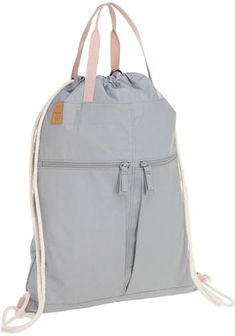 LÄSSIG Wickeltasche »Green Label, Tyve String Bag grey«, mit Rucksackfunktion inkl.... kaufen