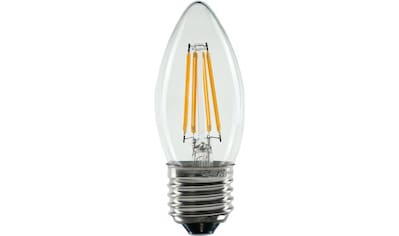SEGULA LED-Filament »LED Kerze, klar, 2600K, 4W, E27«, E27, Warmweiß, E27 Fassung kaufen