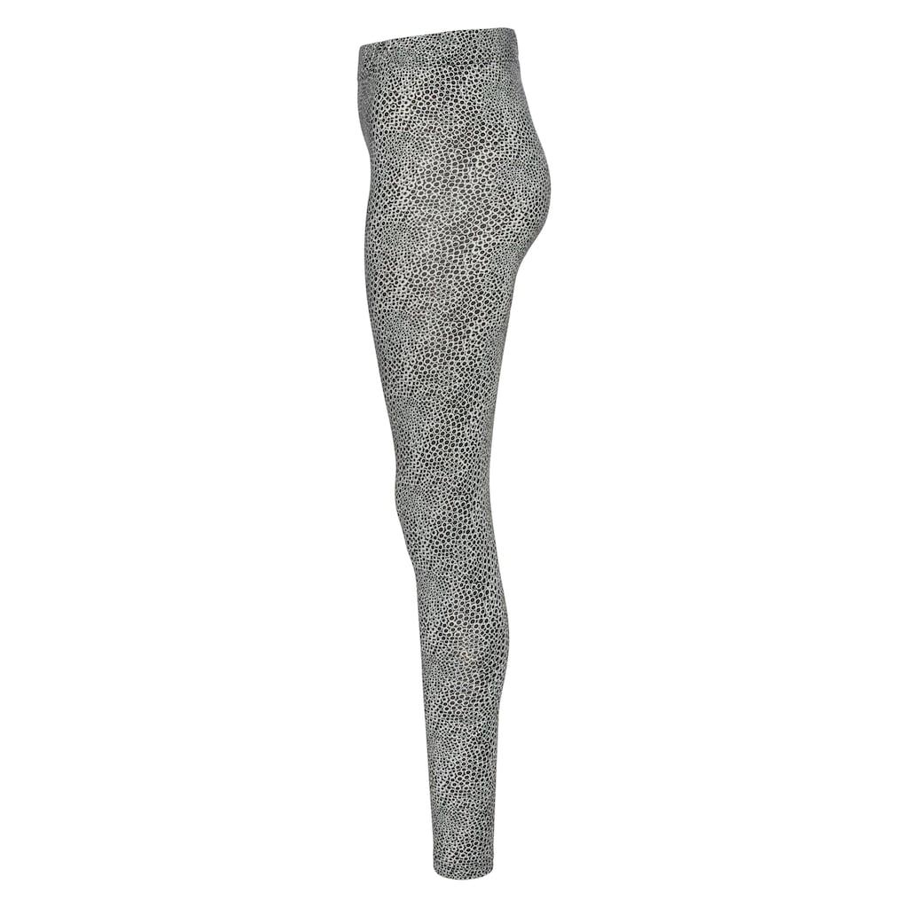 Boysen's Leggings, mit Blumen-Druck