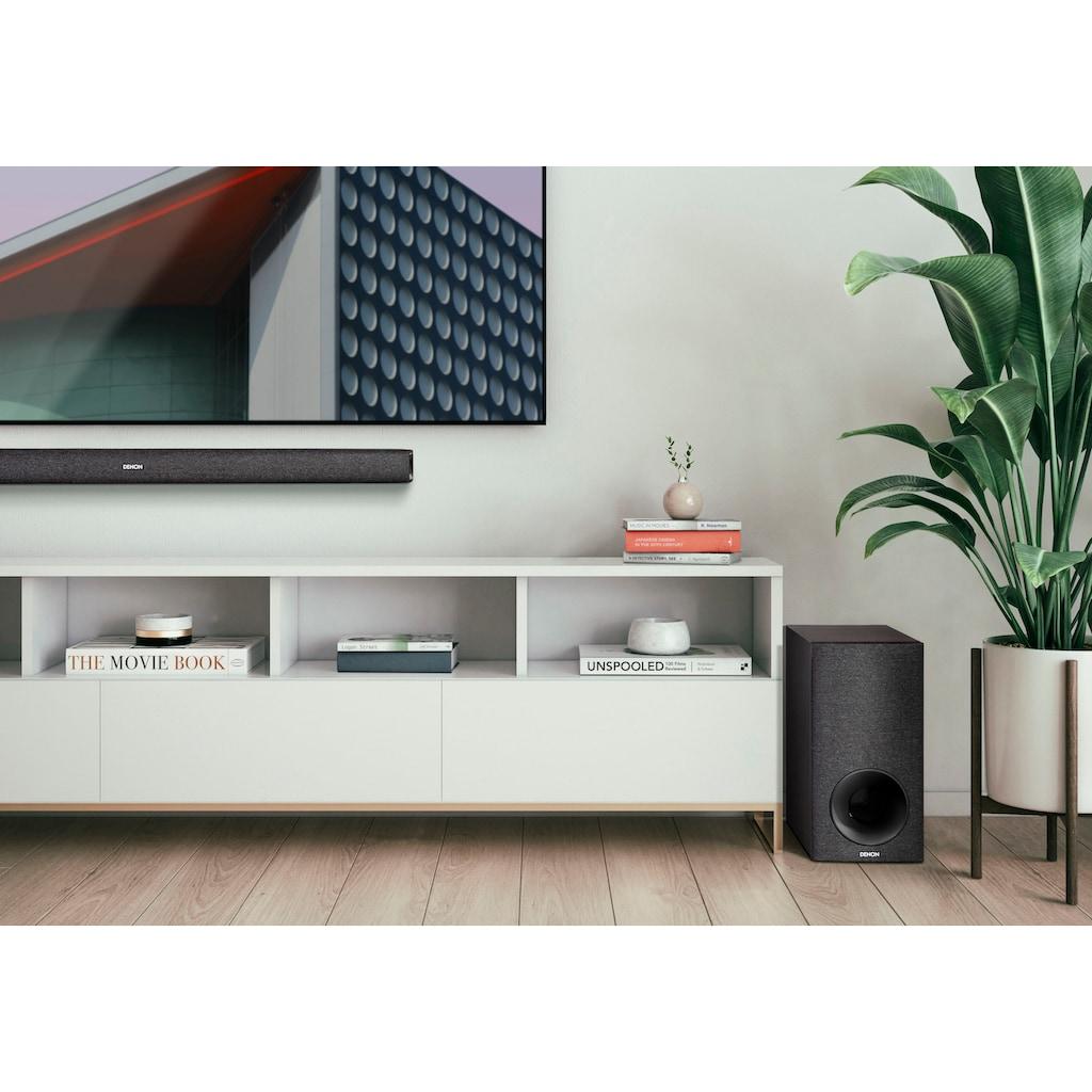 Denon Soundbar »DHT-S416«, kabelloser Subwoofer, Chromecast, HDMI ARC
