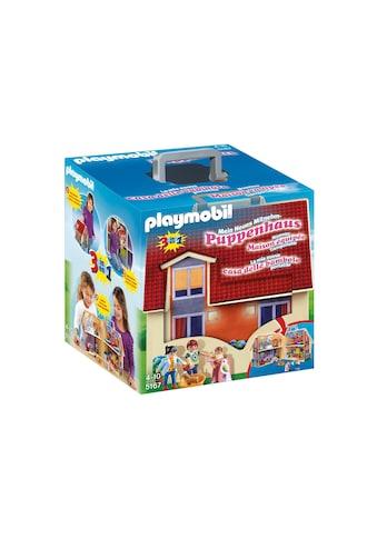 """Playmobil® Konstruktions - Spielset """"Neues Mitnehm - Puppenhaus (5167), Dollhouse"""", Kunststoff kaufen"""