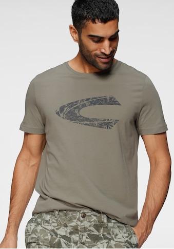 camel active T-Shirt, mit großem Frontprint kaufen