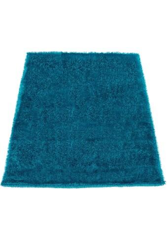 Hochflor - Teppich, »Touch 100«, Paco Home, rechteckig, Höhe 45 mm, maschinell gewebt kaufen